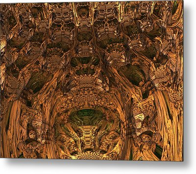Abandon All Hope Ye Who Enter Here Metal Print by Lyle Hatch