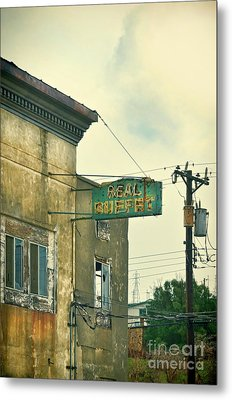 Metal Print featuring the photograph Abandoned Building by Jill Battaglia