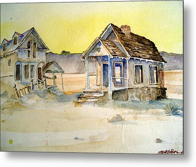 Abandoned Buildings Metal Print by Steven Holder