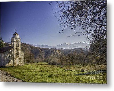 Abandoned Church Metal Print by Jivko Nakev