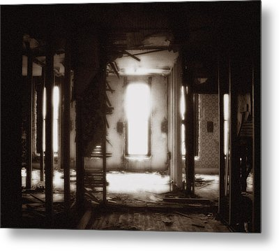 Abandoned Flophouse In Denver Metal Print