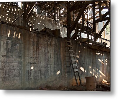 Metal Print featuring the photograph Abandoned by Fran Riley