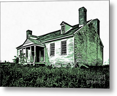 Abandoned Homestead Metal Print