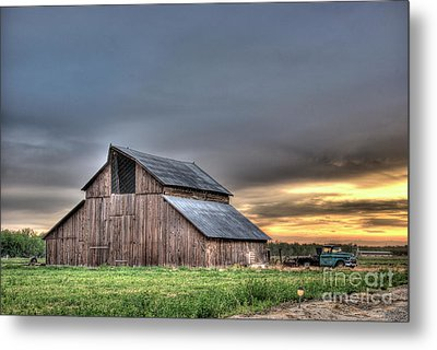 Metal Print featuring the photograph Abandoned by Jim and Emily Bush