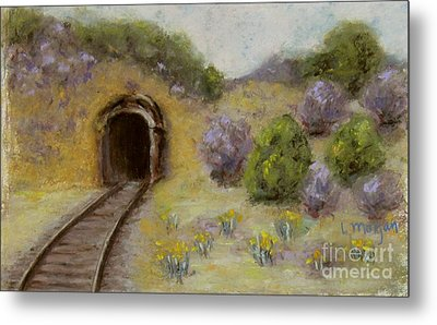 Abandoned Mine Metal Print by Laurie Morgan