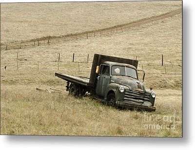 Abandoned Metal Print by Norman Andrus