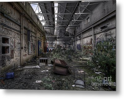 Abandoned Place Metal Print by Svetlana Sewell