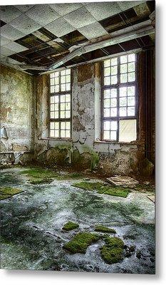 Abandoned Room - Urban Decay Metal Print