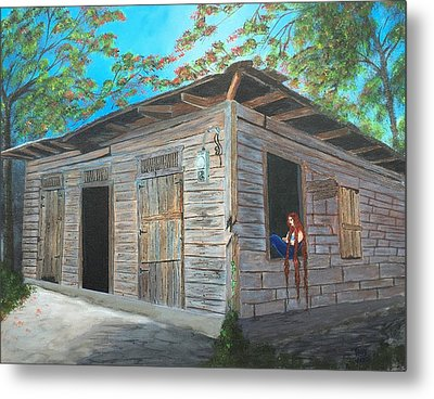Abandoned Metal Print by Tony Rodriguez