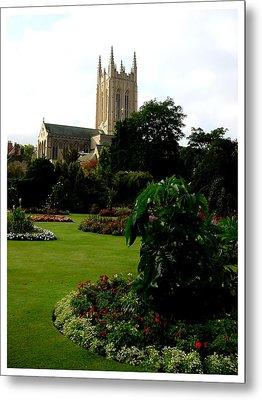 Abbey Gardens Metal Print