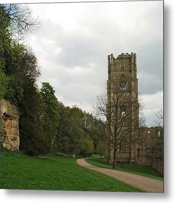 Abbot Huby's Tower 2 Metal Print