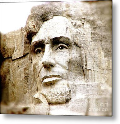 Abe Metal Print by Nancy TeWinkel Lauren