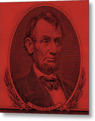 Metal Print featuring the photograph Abe On The 5 Orange by Rob Hans