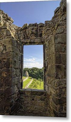 Metal Print featuring the photograph Aberdour Castle by Jeremy Lavender Photography
