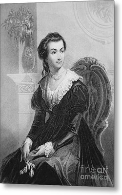 Abigail Smith Adams Metal Print by American School