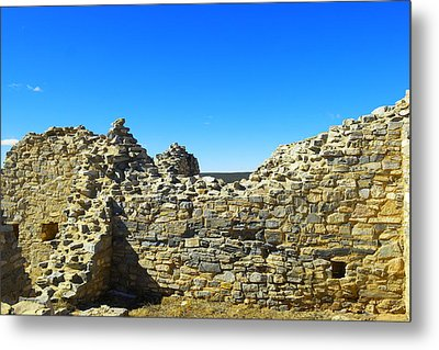 Metal Print featuring the photograph Abo Mission Ruins New Mexico by Jeff Swan