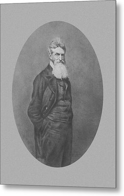 Abolitionist John Brown Metal Print by War Is Hell Store