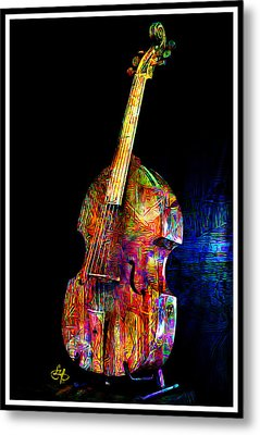 About That Bass Metal Print