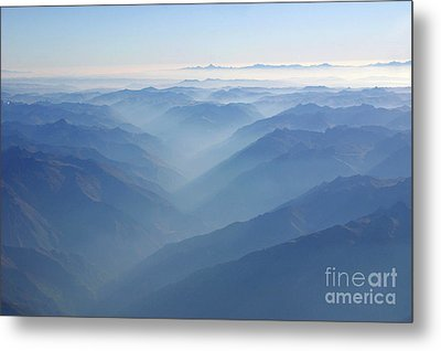 Above The Andes Metal Print by Matt Tilghman