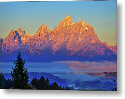 Above The Clouds Metal Print by Greg Norrell