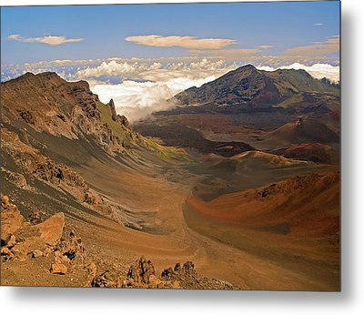 Above The Clouds Metal Print by Robert Pilkington