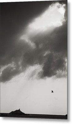 Above The Sea Metal Print by Konstantin Dikovsky