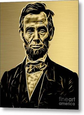 Abraham Lincoln Collection Metal Print