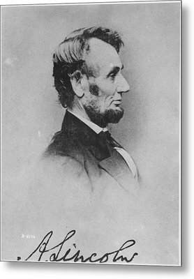 Abraham Lincoln Metal Print by Pablo Lopez