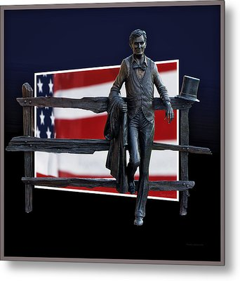 Abraham Lincoln Metal Print by Thomas Woolworth