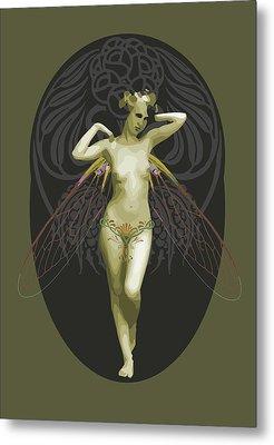 Absinthe Fairy  Metal Print by Joaquin Abella