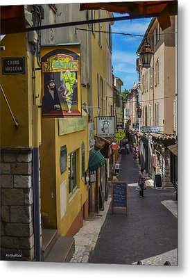 Metal Print featuring the photograph Absinthe In Antibes by Allen Sheffield
