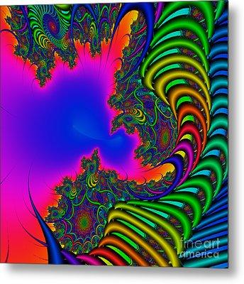 Abstact 04 A Metal Print by Rolf Bertram