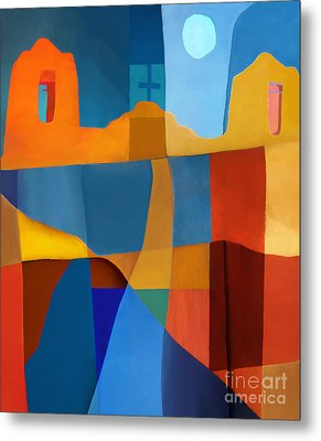 Abstract # 2 Metal Print by Elena Nosyreva
