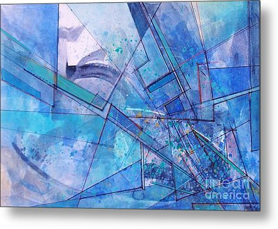 Abstract # 246 Metal Print