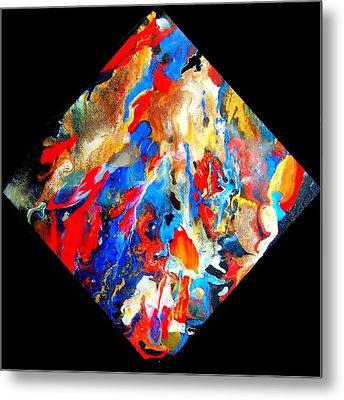Abstract - Evolution Series 1001 Metal Print by Dina Sierra