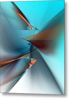Abstract 040411 Metal Print