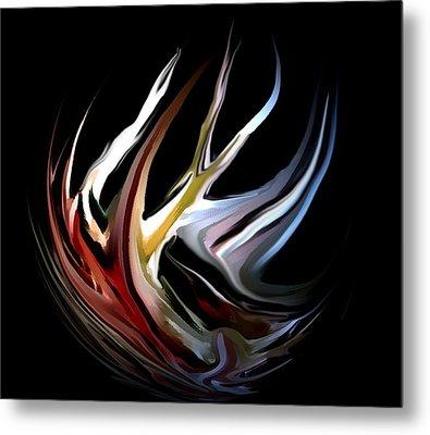Abstract 07-26-09-c Metal Print by David Lane