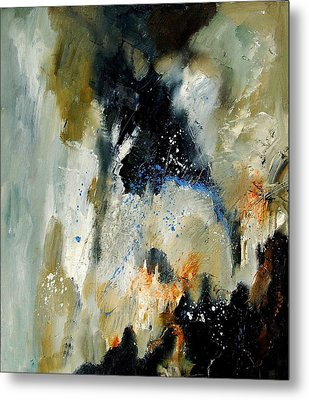 Abstract 070808 Metal Print by Pol Ledent