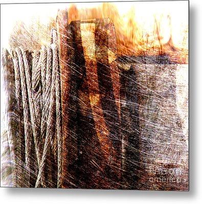 Abstract 1 Metal Print by Susanne Van Hulst