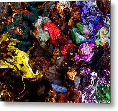 Abstract 10 Metal Print by Timothy Bulone