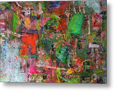 Abstract #101614 Metal Print by Robert Anderson