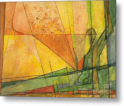 Abstract #11 Metal Print by Robert Anderson