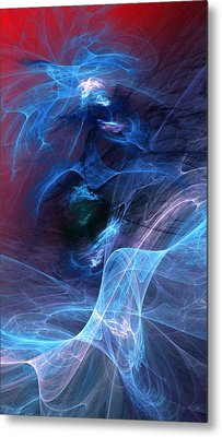 Abstract 111610 Metal Print