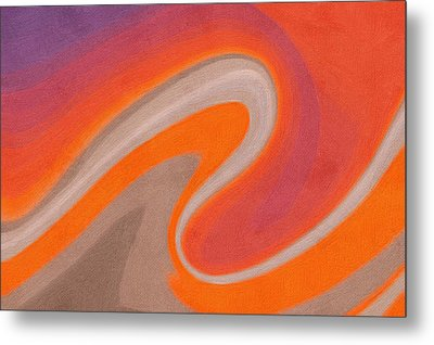 Abstract 19 Metal Print by Art Spectrum