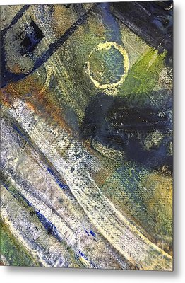 Abstract 22.2 Metal Print by Shelley Graham Turner