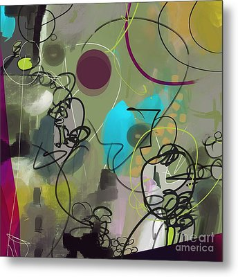 Abstract #31315 Metal Print by Robert Anderson