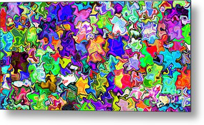 Abstract 369 Metal Print by Rolf Bertram