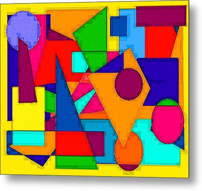 Abstract 3c Metal Print by Timothy Bulone