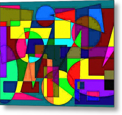 Abstract 4 Metal Print by Timothy Bulone