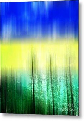 Abstract 43 Metal Print by Gerlinde Keating - Galleria GK Keating Associates Inc